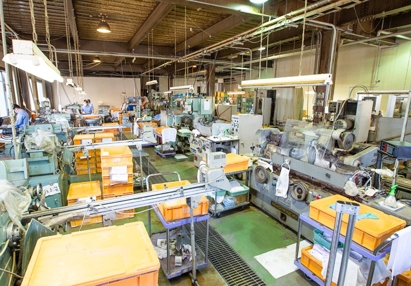 ニイミ産業の製造工場