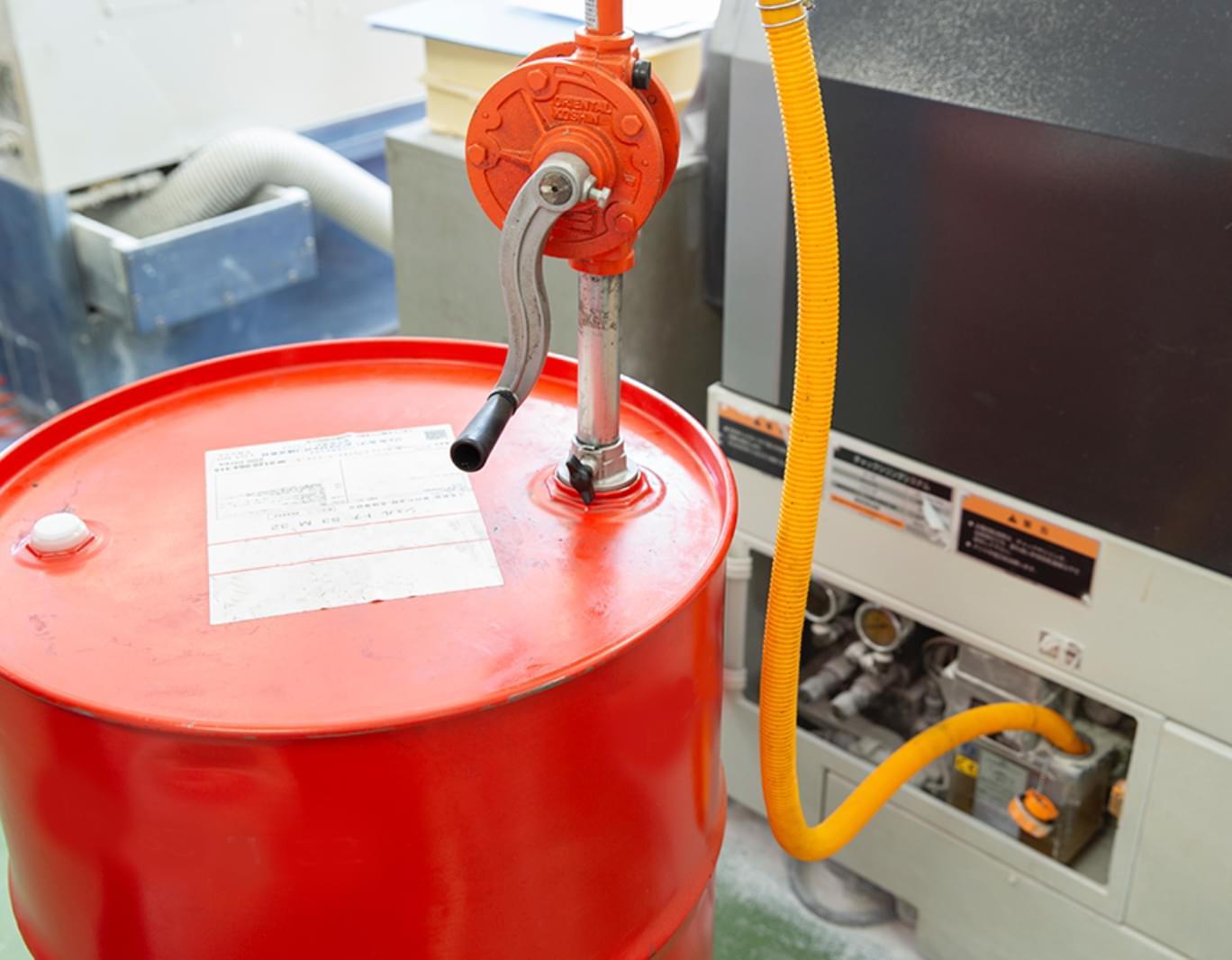 ニイミ産業の潤滑油に関するサービス